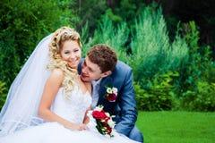 Groom и невеста Стоковые Фото