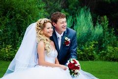 Groom и невеста Стоковая Фотография RF