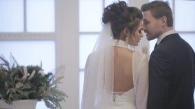Groom и невеста сток-видео