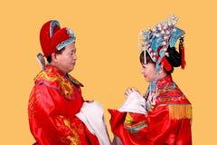 groom китайца невесты Стоковые Изображения RF