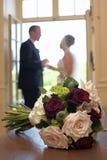groom невесты букета Стоковое Изображение