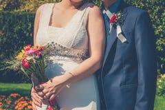groom невесты совместно стоковые изображения rf