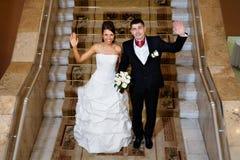 groom потехи невесты Стоковые Фотографии RF