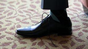 Groom свадьбы взрослый подготовленный для свадебной церемонии Стоковое Фото