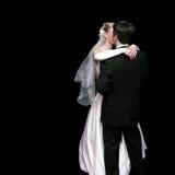 groom танцы невесты Стоковые Изображения