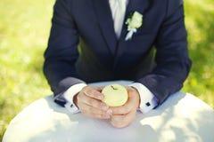 groom яблока Стоковые Изображения RF