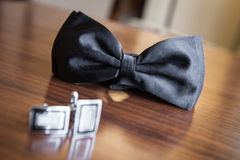 Groom accesories Royalty Free Stock Photos