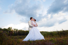 Groom and bride Royalty Free Stock Image
