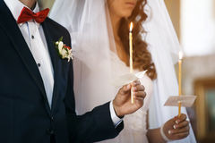Groom and bride Royalty Free Stock Photo