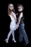 Groom and  bride -  zombie Stock Photos