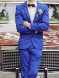Groom at Car Stock Photography