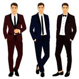 The groom. Clothing. Royalty Free Stock Photo