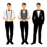 The groom. Clothing. Royalty Free Stock Image