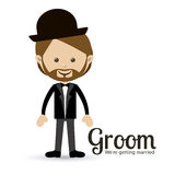 Groom design Stock Images