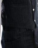 Groom dress in velvet Stock Image