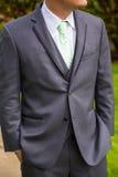 Groom Fashion Suit Jacket Stock Photo