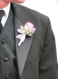 A Groom with a flower Royalty Free Stock Photo