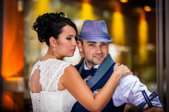 Groom hat Royalty Free Stock Images