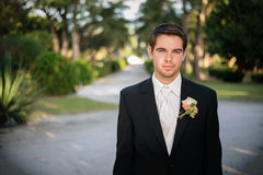 The Groom Royalty Free Stock Photography