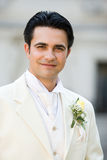 Groom portrait Royalty Free Stock Photography