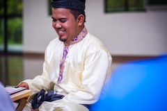 Groom ready for solemnization Stock Photography