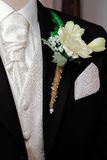 Groom's Corsage Royalty Free Stock Images