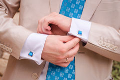 Groom S Suit Royalty Free Stock Photography
