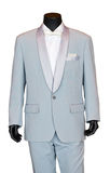 Groom's Wedding Suit On a Mannequin. Stock Photos