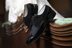 Groom shoes Stock Photos