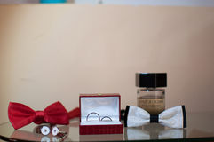 Groom things Stock Images