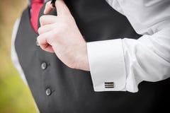 Groom vest Stock Image