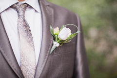 Groom on wedding Royalty Free Stock Photo