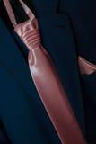 The groom's tie Royalty Free Stock Photo
