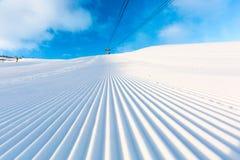 Free Groomed Ski Piste Stock Photo - 53496170