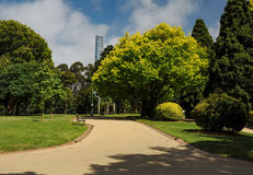 Grooming and beauty of the parks. Of Melbourne Stock Photos