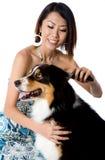 Grooming Dog Royalty Free Stock Photos