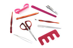 Grooming Items Royalty Free Stock Images