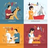 Dog Care Design Concept stock illustration