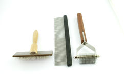 Grooming and trimming equipment Stock Images