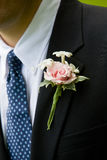 Grooms corsage Royalty Free Stock Photo