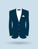 Grooms suit jacket outfit Stock Photography
