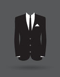 Grooms suit jacket outfit Stock Images