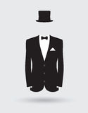 Grooms suit jacket outfit Royalty Free Stock Photography
