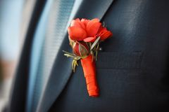 Grooms wedding украшение стоковая фотография rf