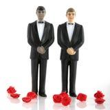 Grooms wedding. Gay wedding with man in tuxedo Stock Photography