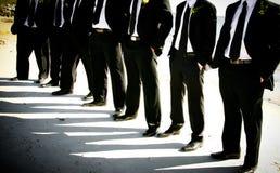 groomsmen νεόνυμφων Στοκ Εικόνες