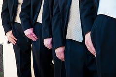 groomsmen νεόνυμφων Στοκ Φωτογραφίες