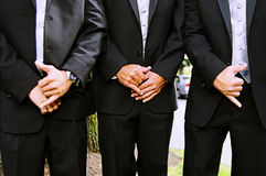 Groomsmen Royalty Free Stock Photography