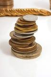 Groot aantal muntstukken Royalty-vrije Stock Foto
