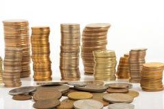 Groot aantal muntstukken Royalty-vrije Stock Fotografie